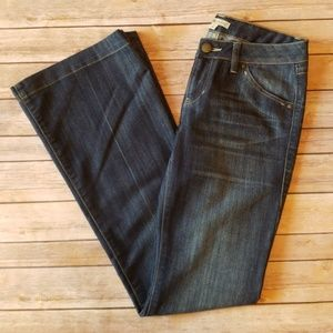 Cabi Wide Flair Leg Jeans - Size 4